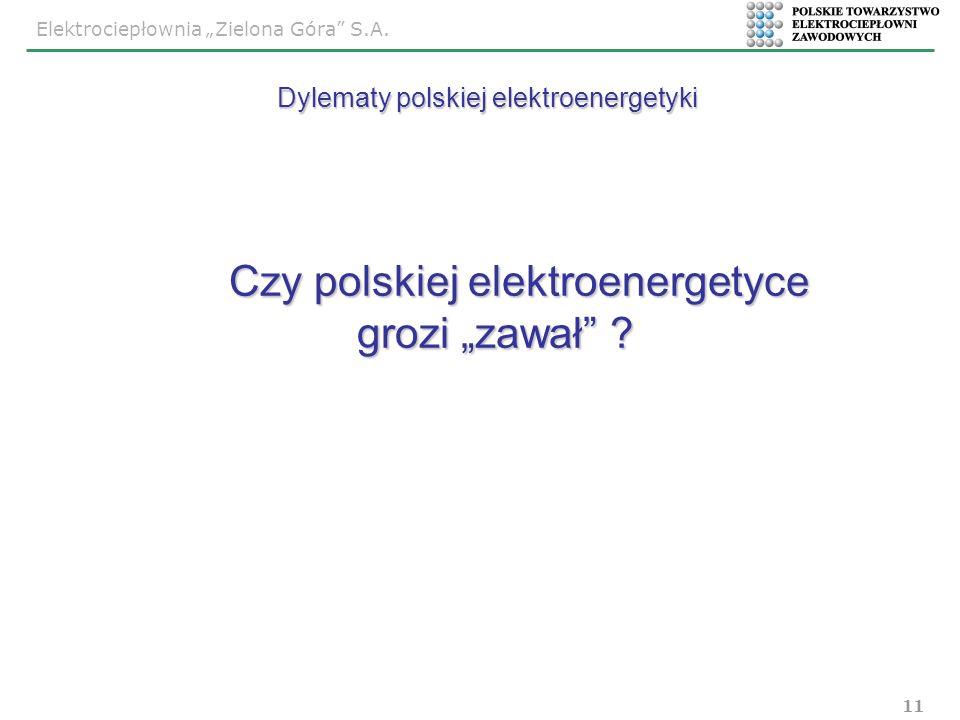 """Czy polskiej elektroenergetyce grozi """"zawał"""