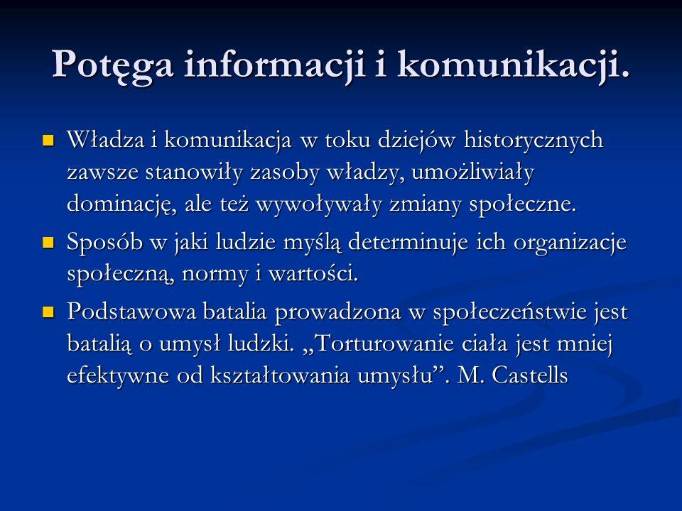 Potęga informacji i komunikacji.