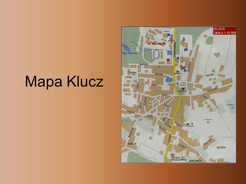 Mapa Klucz