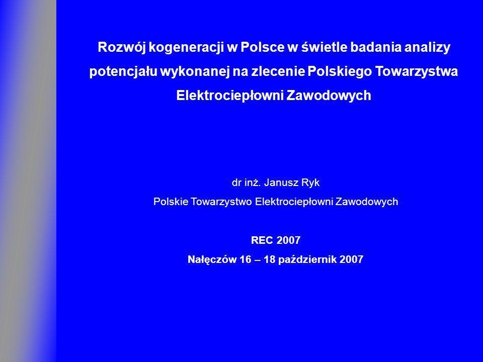 Rozwój kogeneracji w Polsce w świetle badania analizy