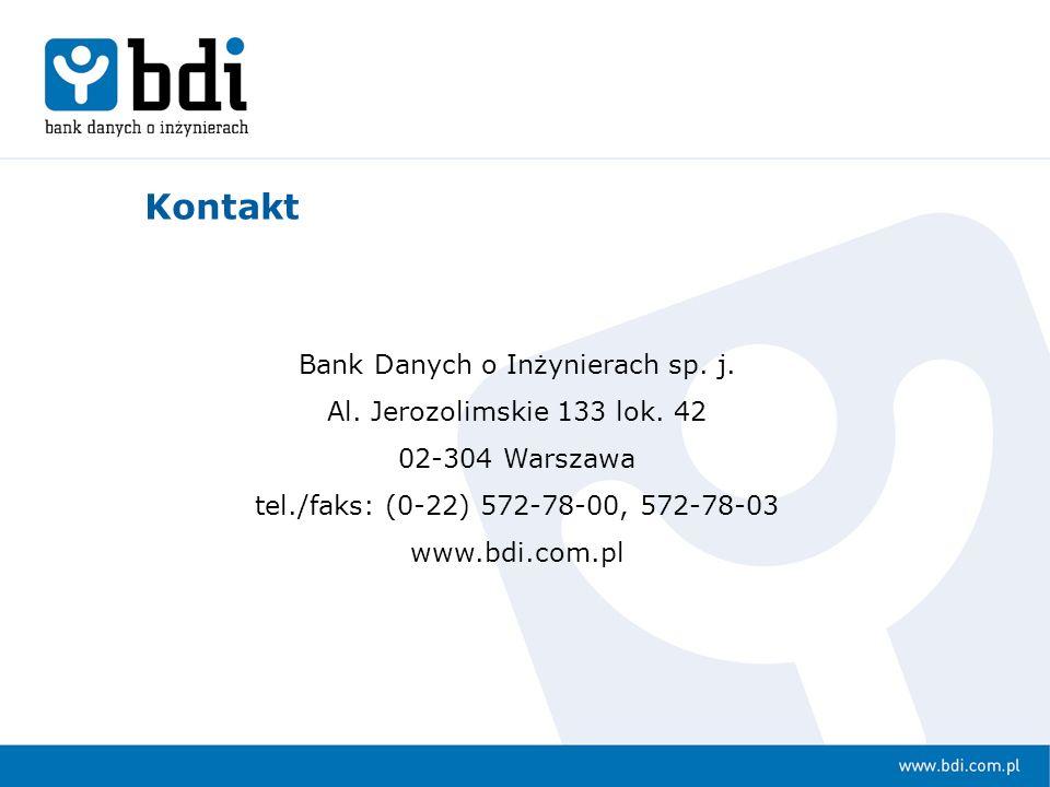 Bank Danych o Inżynierach sp. j.