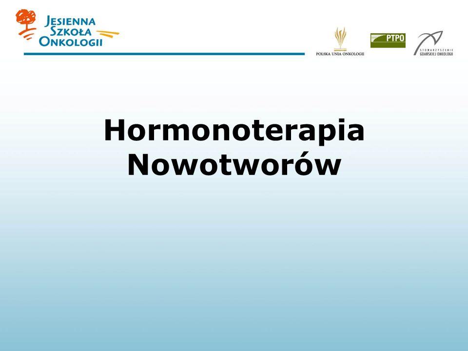 Hormonoterapia Nowotworów