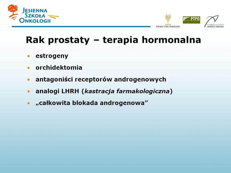 Rak prostaty – terapia hormonalna