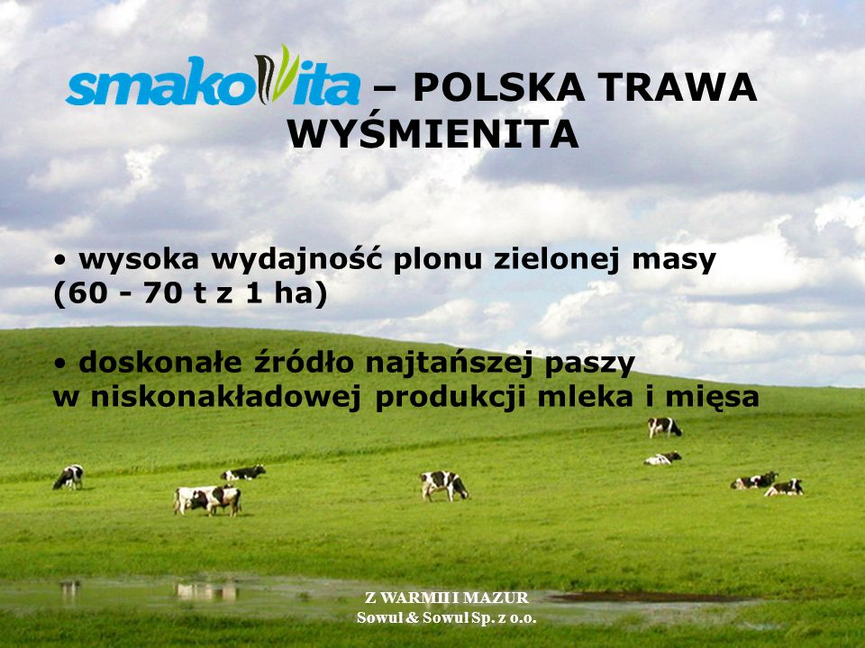 – POLSKA TRAWA WYŚMIENITA