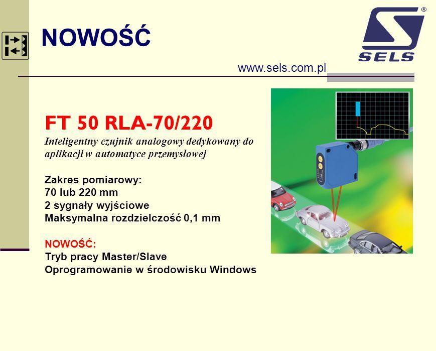 NOWOŚĆ FT 50 RLA-70/220 www.sels.com.pl