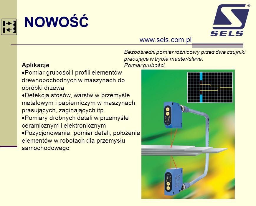 NOWOŚĆ www.sels.com.pl Aplikacje