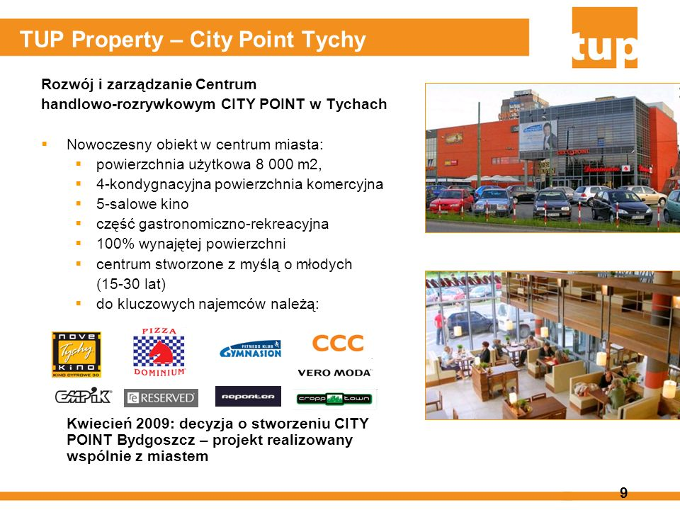 TUP Property – City Point Tychy