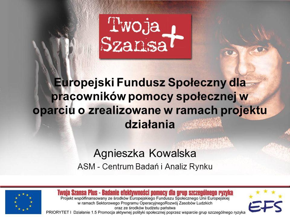 Agnieszka Kowalska ASM - Centrum Badań i Analiz Rynku