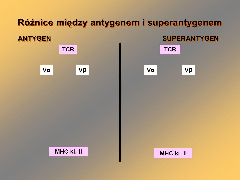 Różnice między antygenem i superantygenem