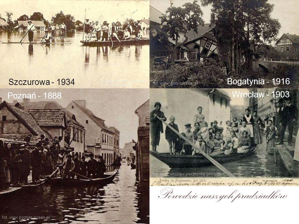 Powodzie naszych pradziadków