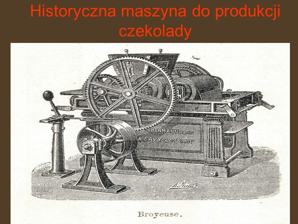 Historyczna maszyna do produkcji czekolady