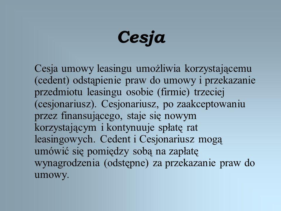 Cesja