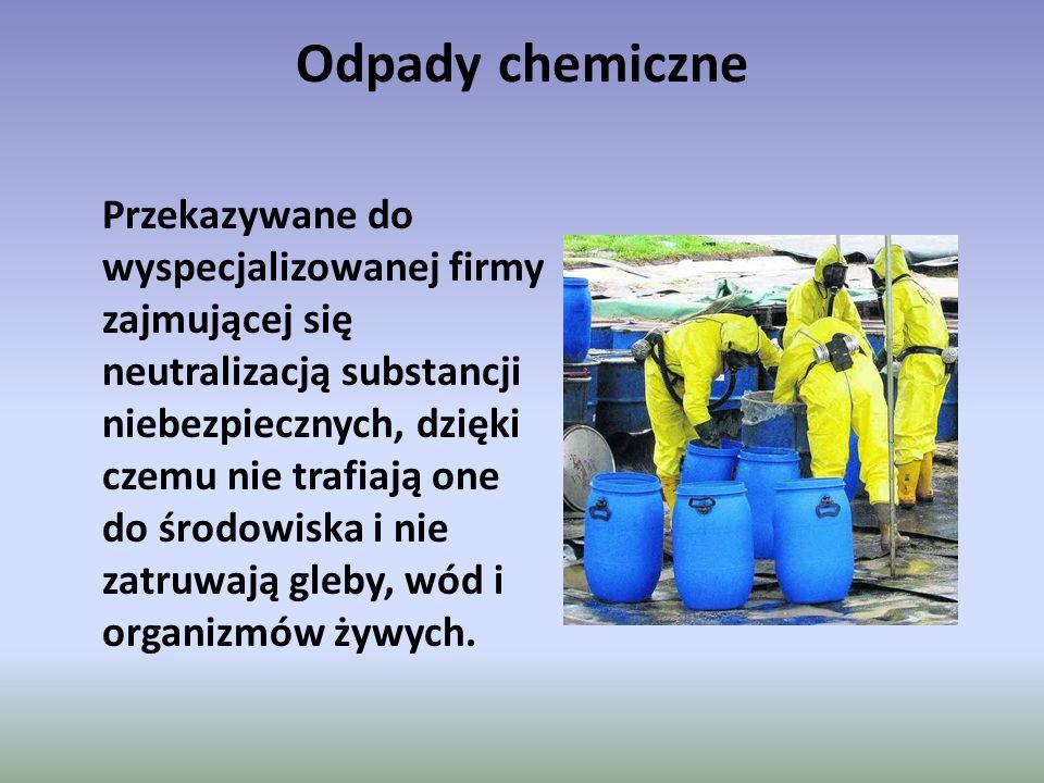 Odpady chemiczne