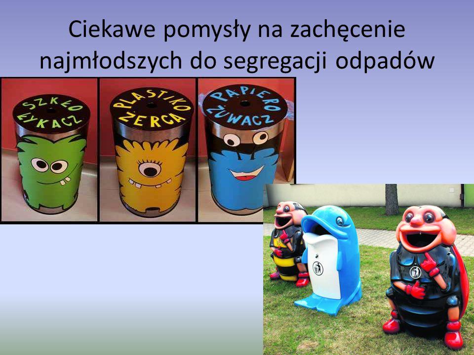 Ciekawe pomysły na zachęcenie najmłodszych do segregacji odpadów
