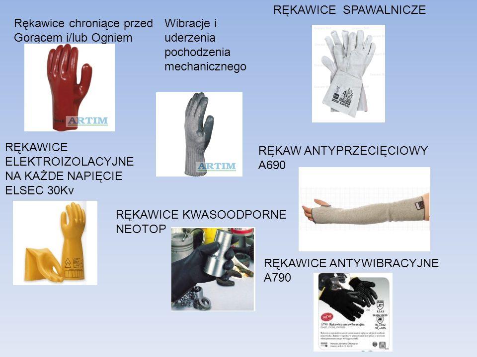 RĘKAWICE SPAWALNICZE Rękawice chroniące przed. Gorącem i/lub Ogniem. Wibracje i uderzenia. pochodzenia mechanicznego.