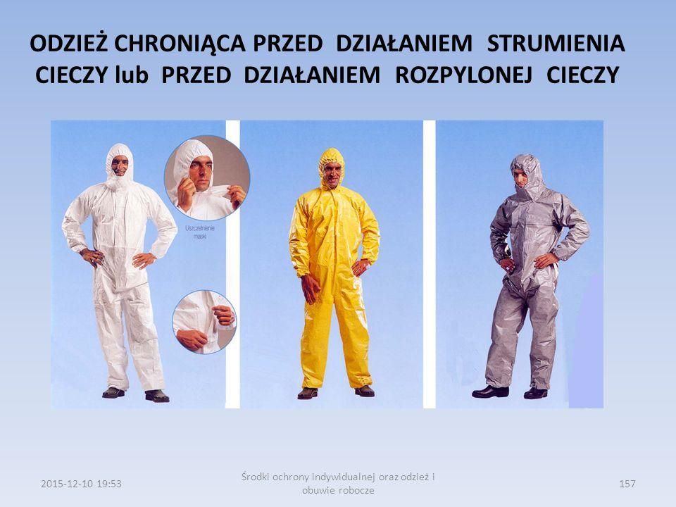 Środki ochrony indywidualnej oraz odzież i obuwie robocze