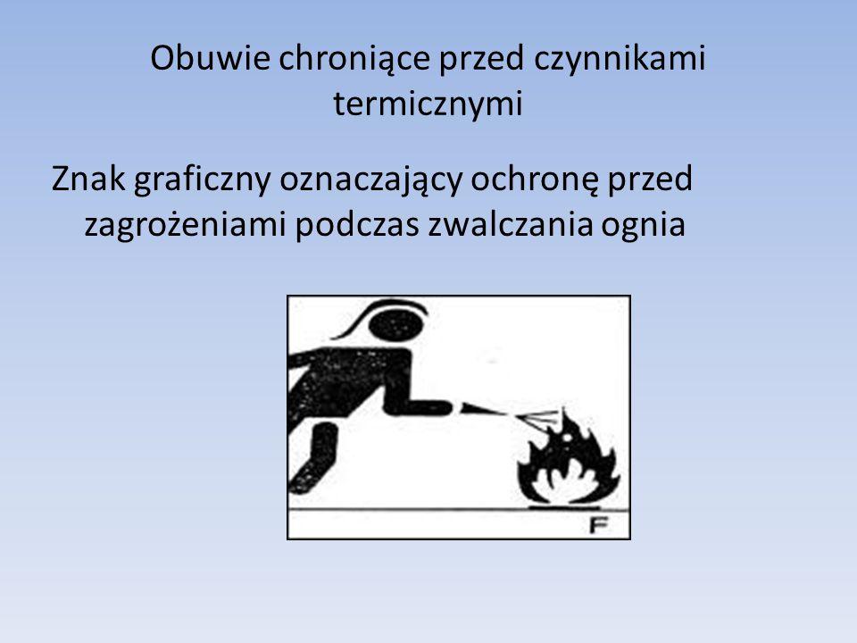 Obuwie chroniące przed czynnikami termicznymi