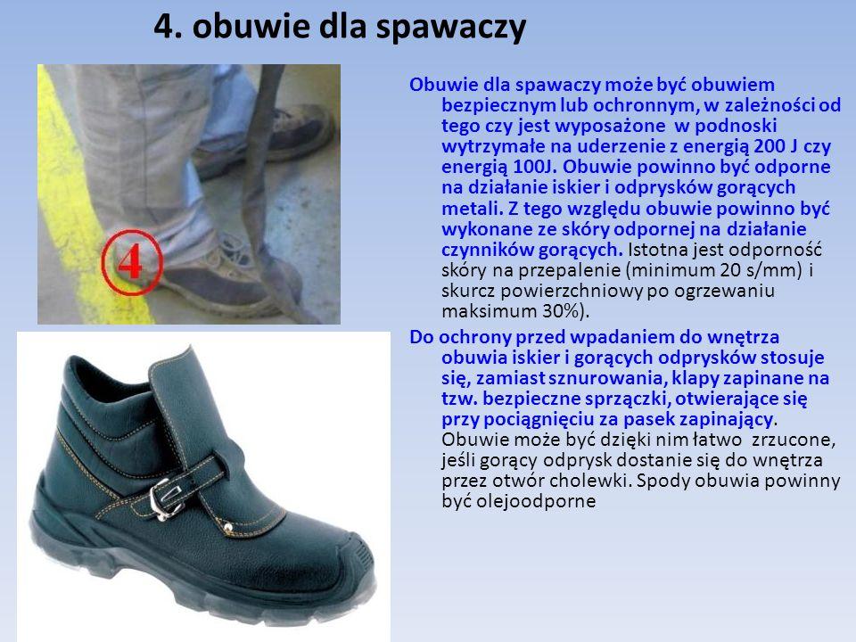 4. obuwie dla spawaczy