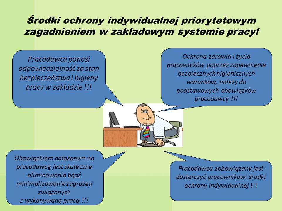 Środki ochrony indywidualnej priorytetowym zagadnieniem w zakładowym systemie pracy!