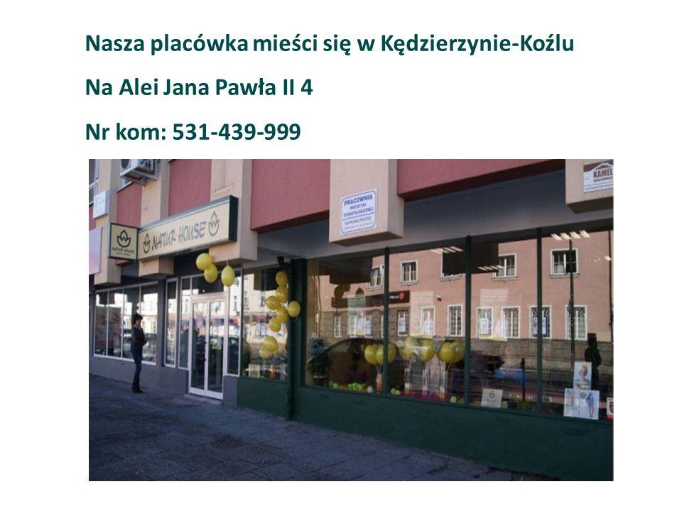 Nasza placówka mieści się w Kędzierzynie-Koźlu