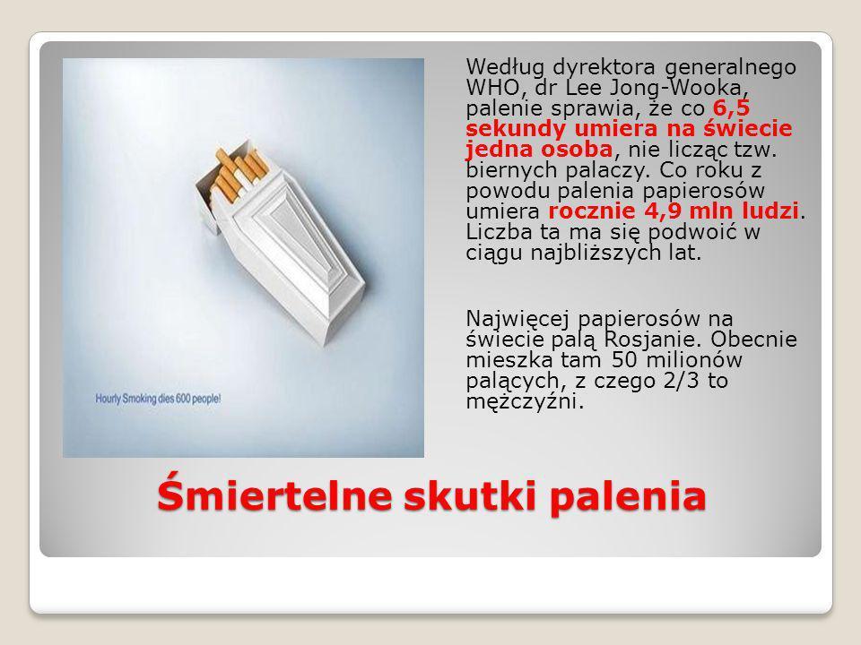Śmiertelne skutki palenia