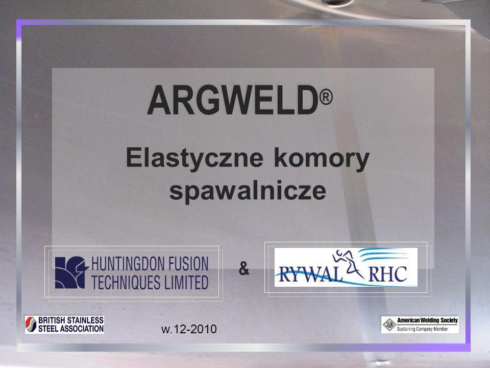 ARGWELD® Elastyczne komory spawalnicze & w.12-2010 1