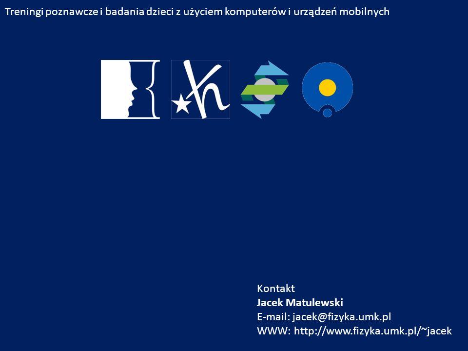 E-mail: jacek@fizyka.umk.pl WWW: http://www.fizyka.umk.pl/~jacek