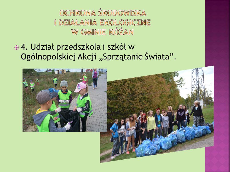 Ochrona środowiska i działania ekologiczne w gminie różan