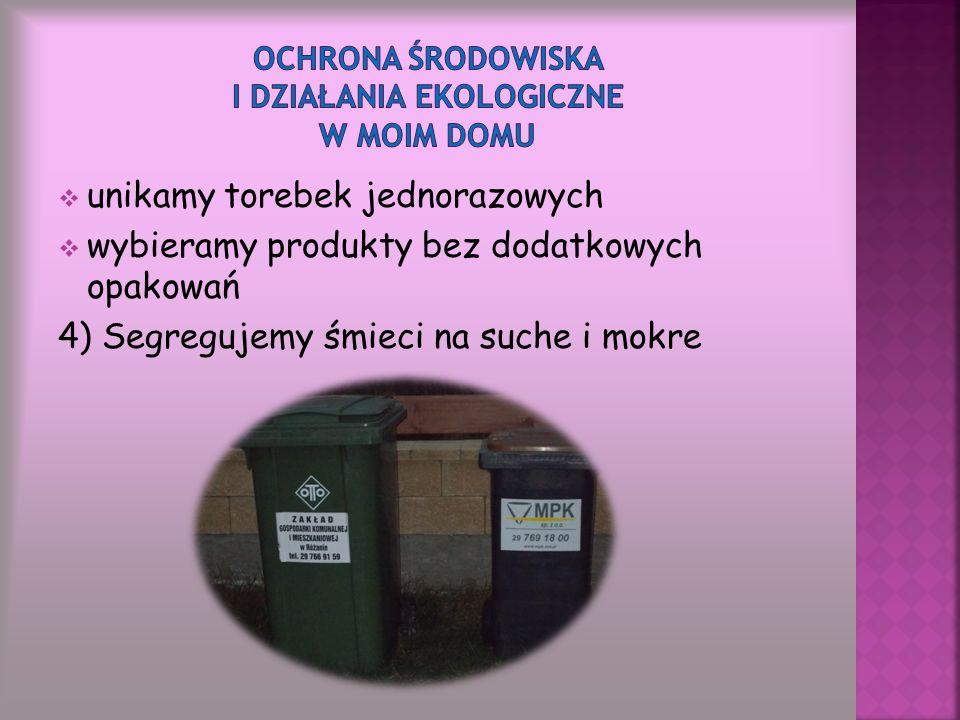 Ochrona środowiska i działania ekologiczne w moim domu