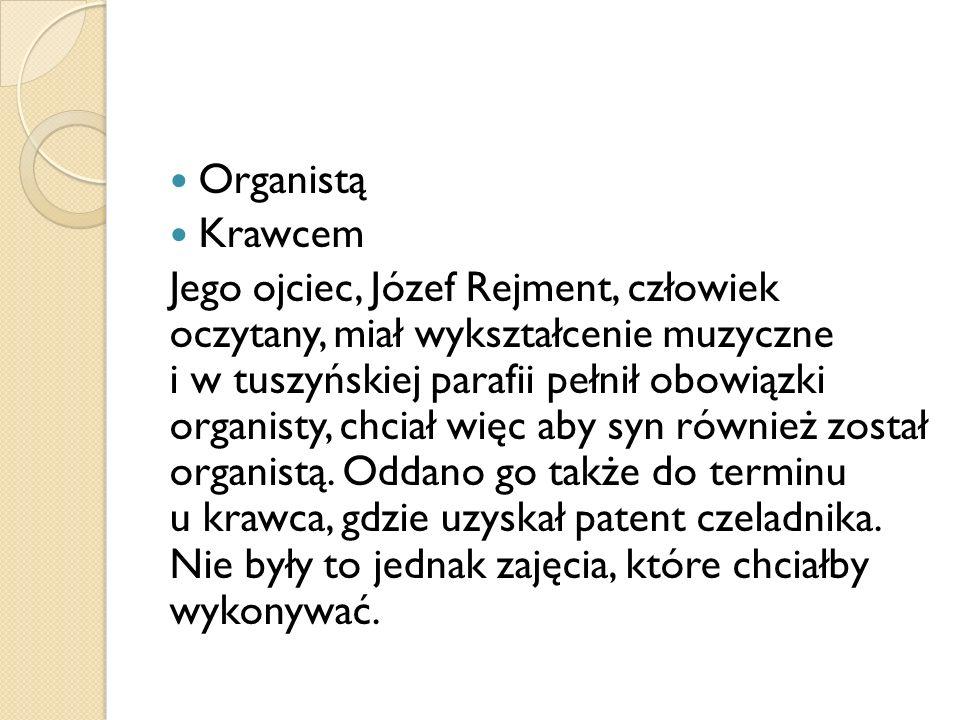 Organistą Krawcem.