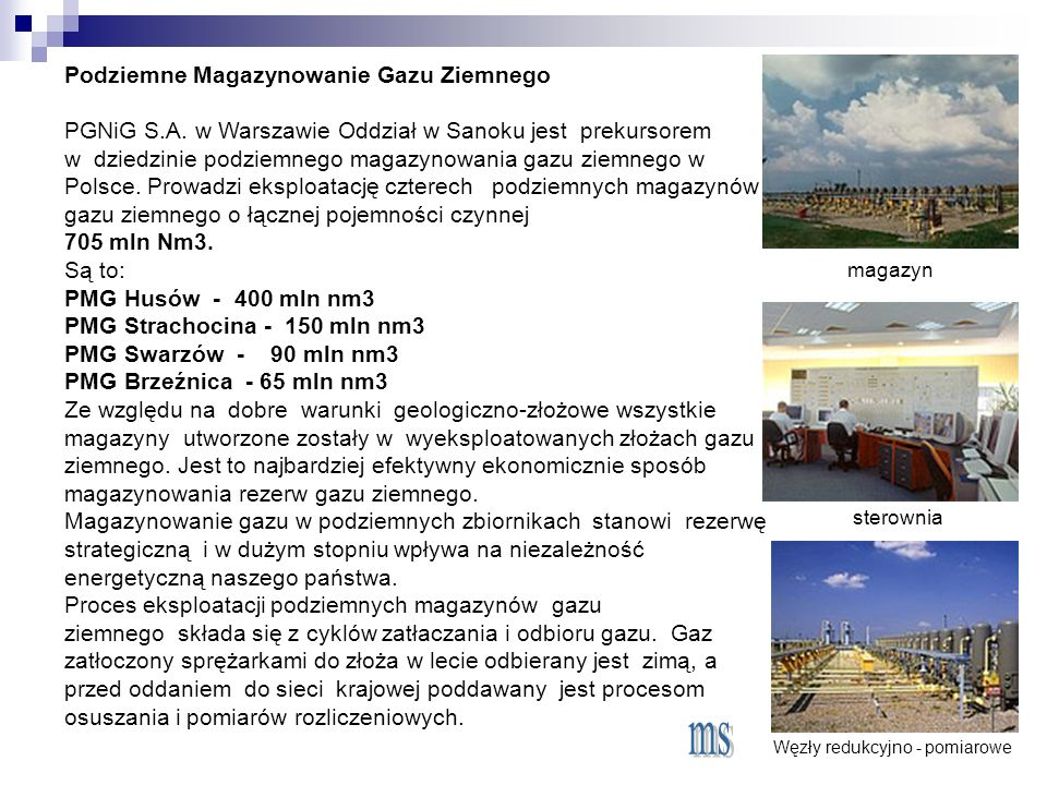 Podziemne Magazynowanie Gazu Ziemnego