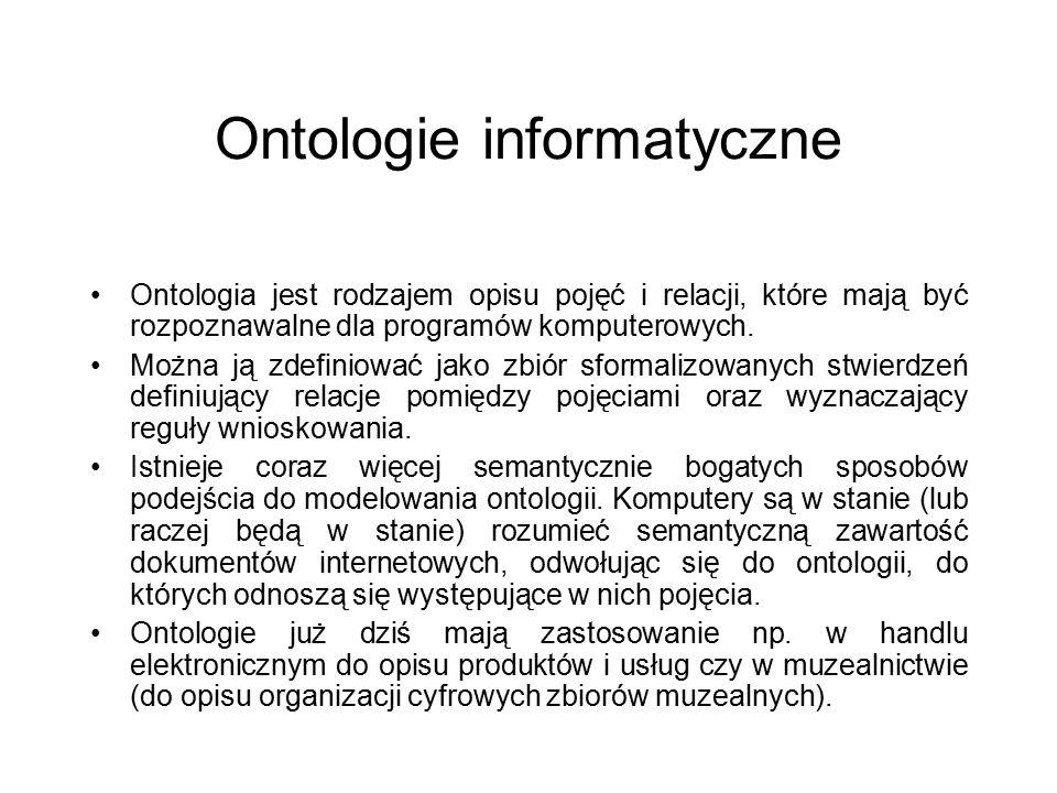 Ontologie informatyczne
