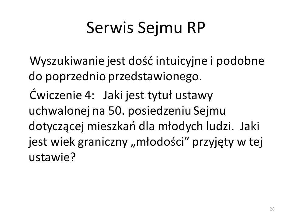 Serwis Sejmu RP