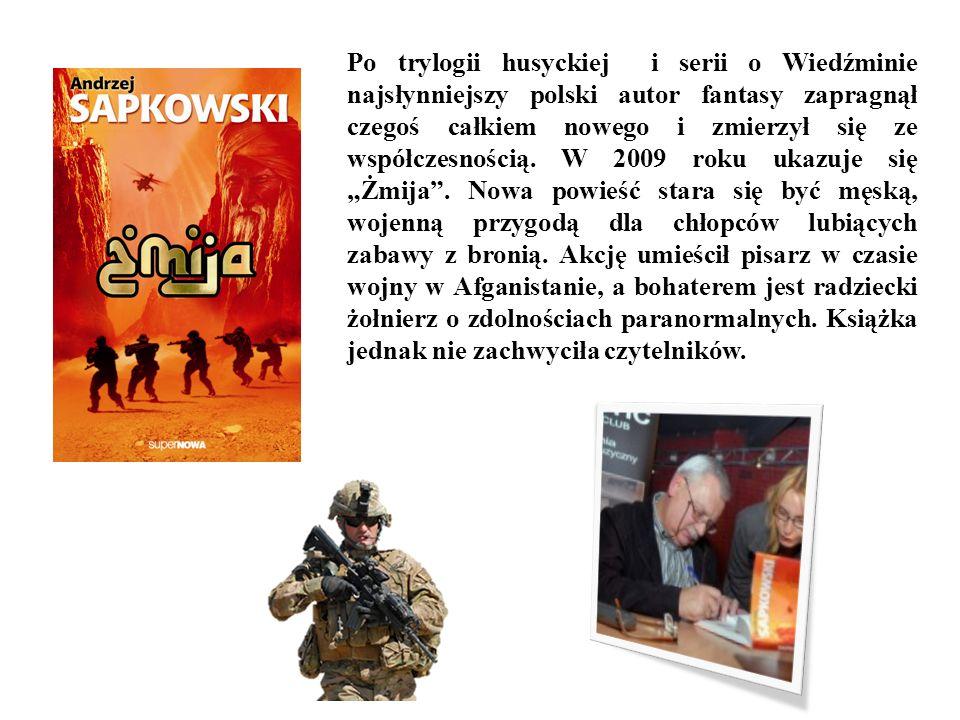 Po trylogii husyckiej i serii o Wiedźminie najsłynniejszy polski autor fantasy zapragnął czegoś całkiem nowego i zmierzył się ze współczesnością.