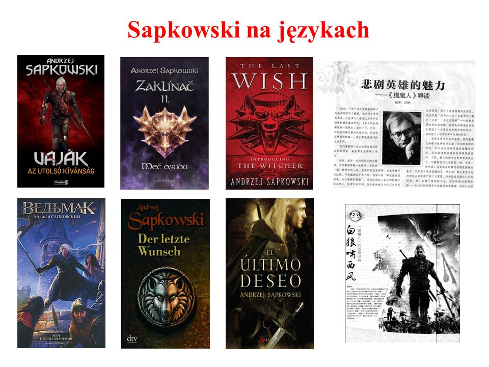 Sapkowski na językach