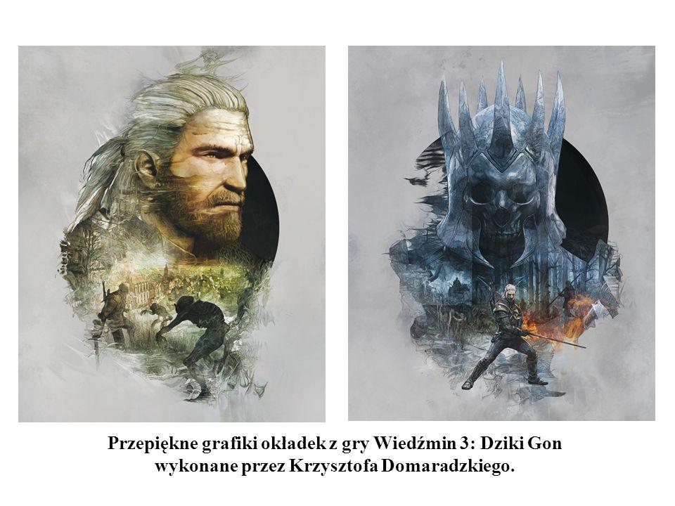 Przepiękne grafiki okładek z gry Wiedźmin 3: Dziki Gon