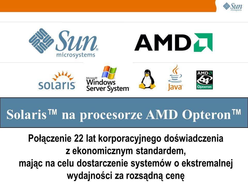 Solaris™ na procesorze AMD Opteron™