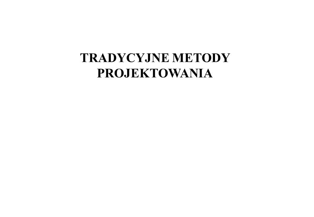 TRADYCYJNE METODY PROJEKTOWANIA