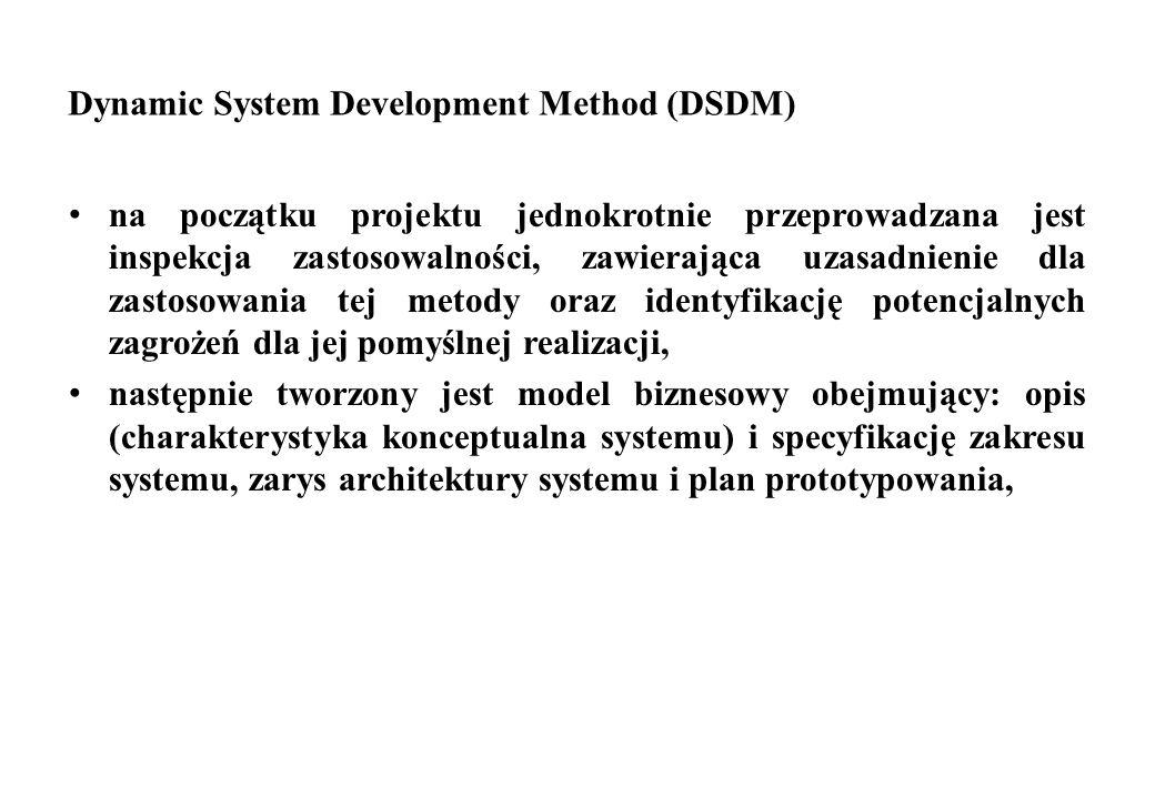 Dynamic System Development Method (DSDM)