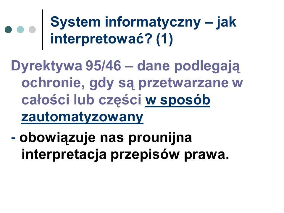 System informatyczny – jak interpretować (1)