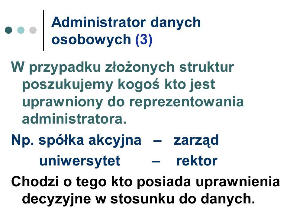 Administrator danych osobowych (3)