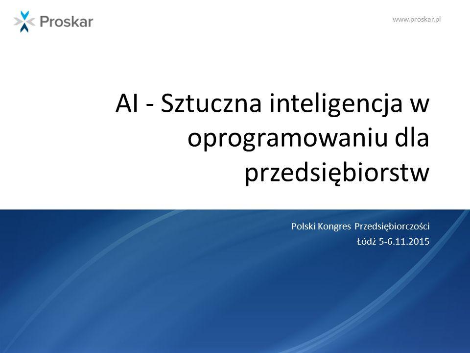 AI - Sztuczna inteligencja w oprogramowaniu dla przedsiębiorstw