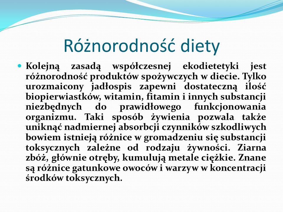 Różnorodność diety