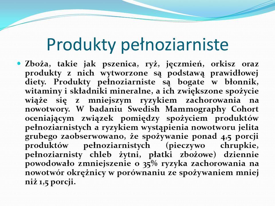 Produkty pełnoziarniste