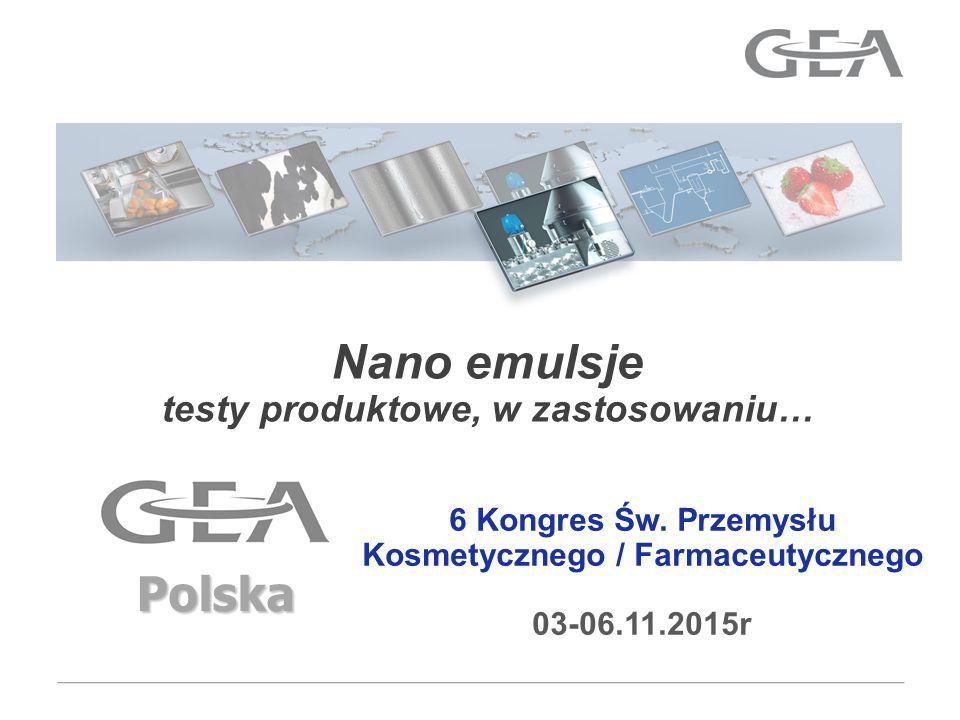 Nano emulsje Polska testy produktowe, w zastosowaniu…