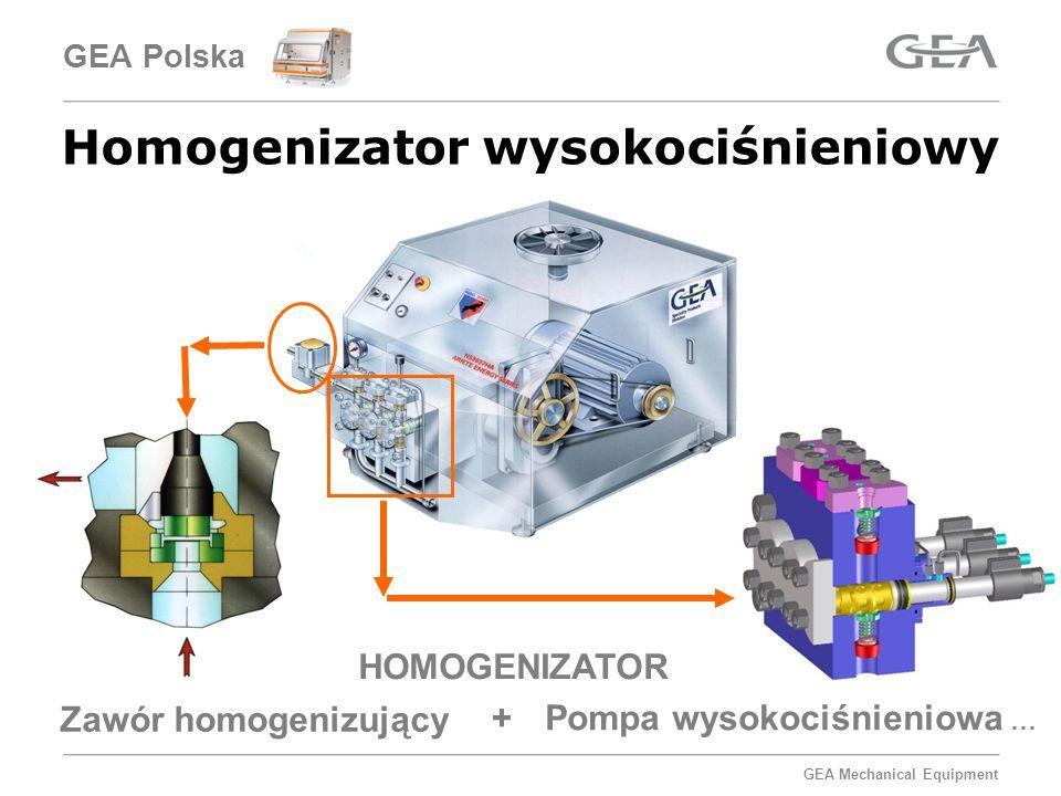 Homogenizator wysokociśnieniowy