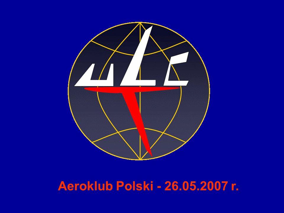1 Aeroklub Polski - 26.05.2007 r.
