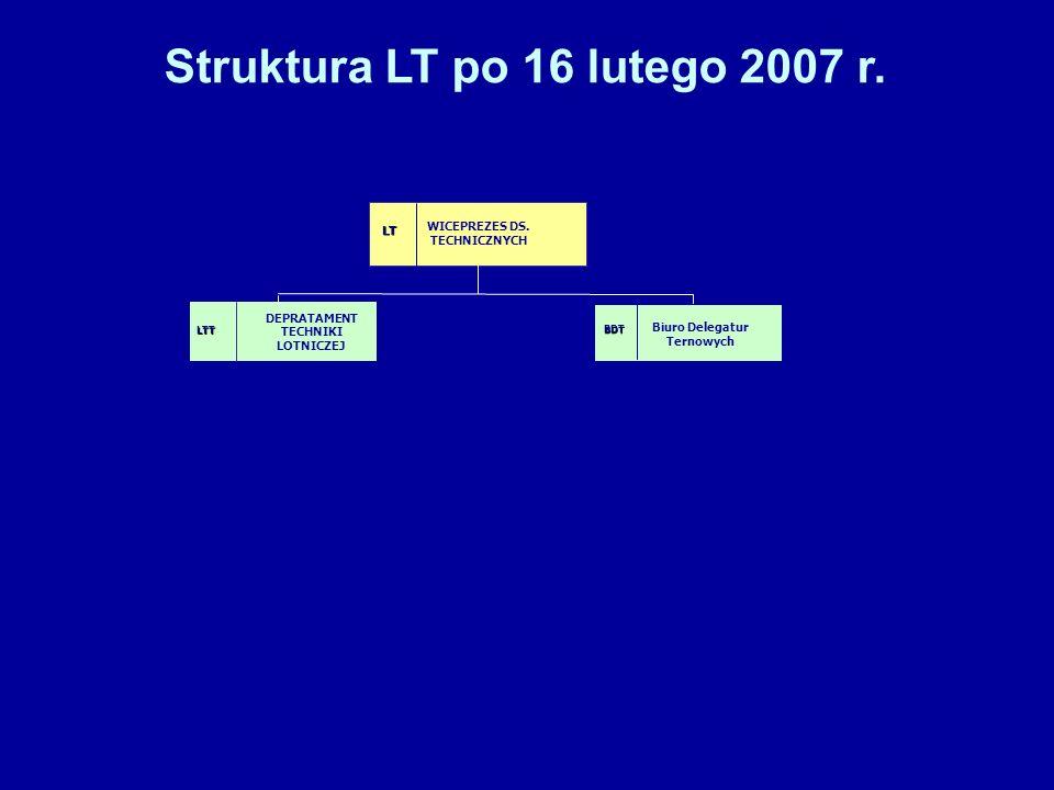 Struktura LT po 16 lutego 2007 r.