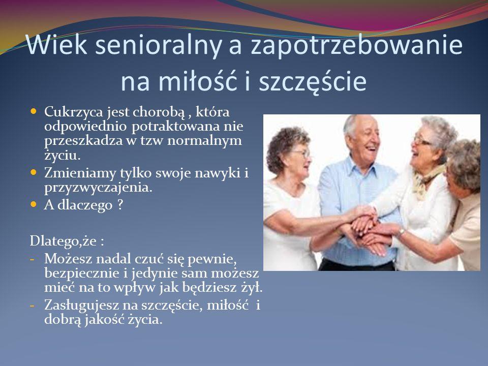 Wiek senioralny a zapotrzebowanie na miłość i szczęście