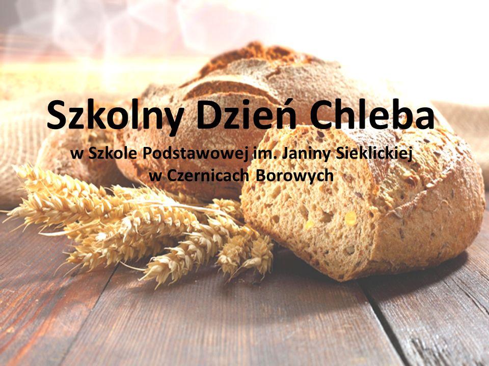 Szkolny Dzień Chleba w Szkole Podstawowej im